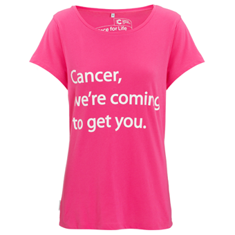 Pink Cancer Research T Shirts - Greek T Shirts